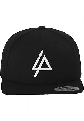 Linkin Park Logo Snapback Black 6 Panel Yupoong Flexfit Kappe Stick Merchcode