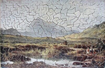 Vintage Wooden Jigsaw Puzzle - Early Morning, Snowden