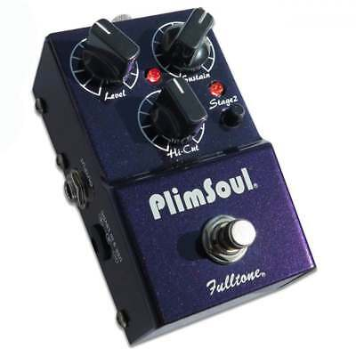 Fulltone Plimsoul Overdrive/Distortion Guitar Effect Pedal - Brand New!