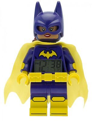 Batgirl Batman Movie Lego Uhr Wecker Figur ClicTime Kinderwecker Kinderuhr Bunt
