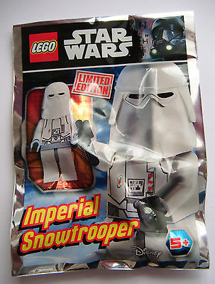 LEGO STAR WARS LIMITED EDITION IMPERIAL SNOWTROOPER New & sealed pack