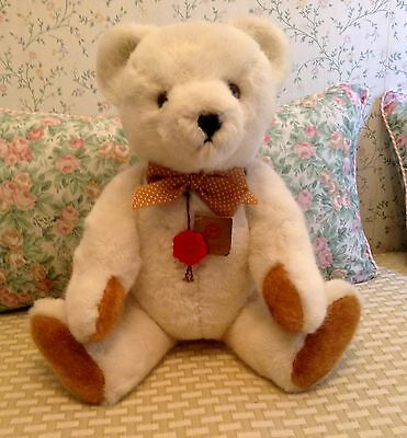 "19"" Jointed Hermann Bear With Great ""Growler"" Made In Germany"