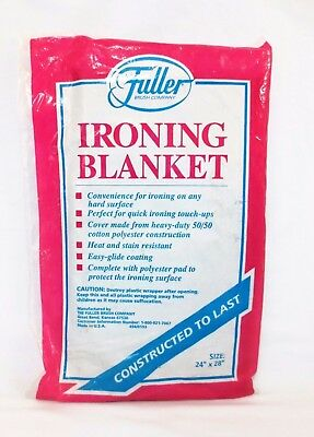 """Ironing Blanket 24"""" x 28"""" # 494/0193 Fuller Brush Company New in Package"""