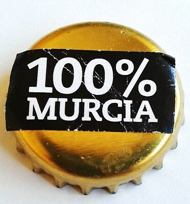 Cerveza Artesana 100% Murcia-Spain Kronkorken Bottle Cap Crown Cap Beer Capsule
