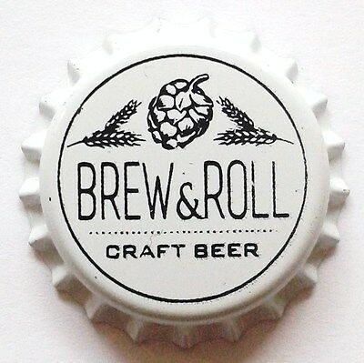 Cerveza Artesana Brew&roll ¡ Spain Kronkorken Bottle Cap Crown Cap Tapon Corona