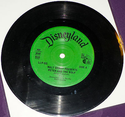 Peter and the Wolf - Disney See Hear And Read!!! - Record ONLY!