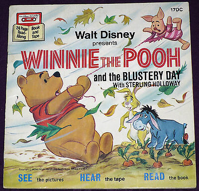 Winnie the Pooh & the Blusteryday - Disney See Hear And Read! w/o Cassette