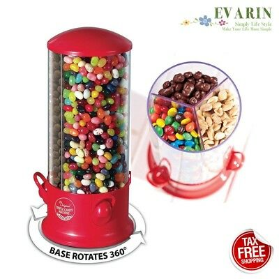 Candy Machine Dispenser Bank Jar Gumball M&M Jelly Bean Nuts Hershey Snack Treat