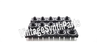 Tact Switches Full Set Of 15 for Korg DW6000 Parts Repair Vintage Synth DW-6000