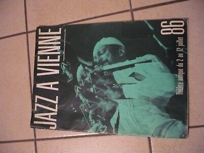 programme officiel du festival de jazz de vienne 1986.jazz.buddy guy hampton.