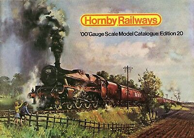 Hornby Railways 00 Gauge Scale Model Railway Catalogue Edition 20 1974