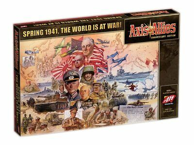 Avalon Hill Board Game Axis & Allies Anniversary Edition english Wizards the