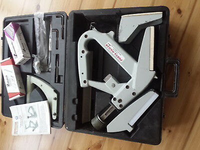 Porta Nailer MASTER KIT case, tools, spares & T nails RARE
