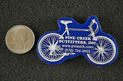 Pine Creek Outfitters Inc Wellsboro Pennsylvania Bike Bicycle Magnet