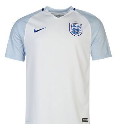 England 2016/2018 Home Shirt Size Med  New With Tags
