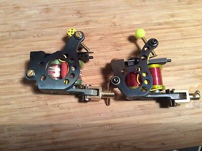 Pair Of Custom  Tattoo Machines
