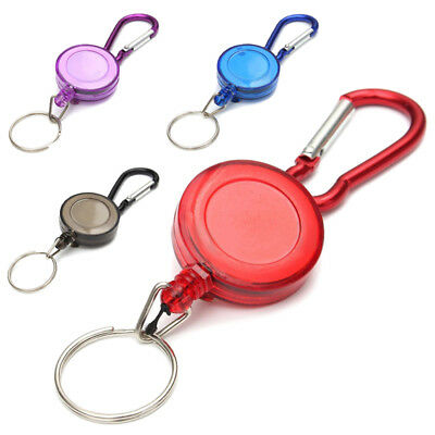 Fp 2 Pcs Badge Reel - Retractable Recoil Yoyo Ski Pass Id Card Holder Key Chain