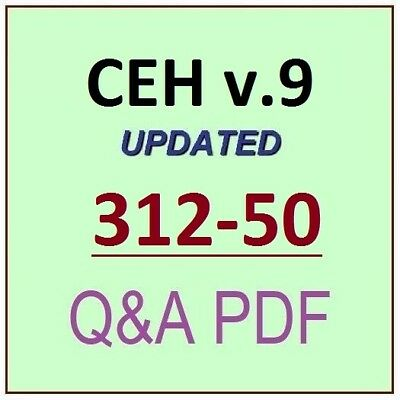 CEH 312-50 Latest Exam Questions, PDF+simulator - get CEH certification
