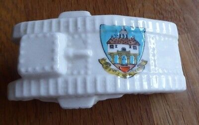 Ww1 Model Of Tank Reg No 658588 Swan Crested China Wigan