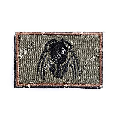 Predator PATCH ARMY MORALE TACTICAL MORALE BADGE PATCH #H
