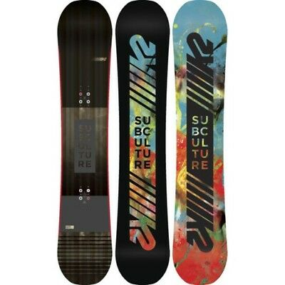 K2 Snowboard - Subculture Wide - Directional Twin, All Mountain, Mid Flex - 2018