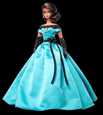 2013 BFMC Barbie Ball  Gown Barbie Doll--- X8275 Gold Label Collection Silkstone