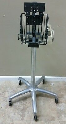 Welch Allyn Vital Signs Monitor Rolling Stand/Cart 53000 5300  BP SPO2 NIBP