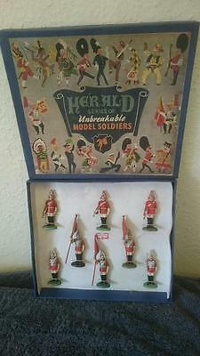 Herald Household Cavalry unbreakable series Britain's rare boxed set