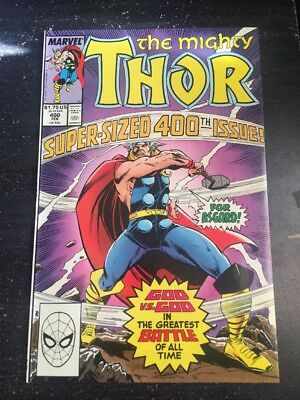 Mighty Thor#400 Incredible Condition 9.4(1989) Frenz Art, Cool!!