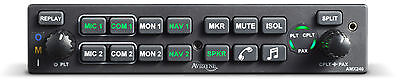 Brand New Avidyne AMX240 Audio Panel for General Aviation with Stereo Intercom
