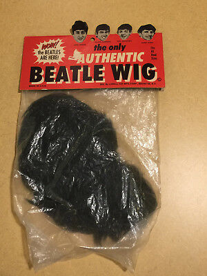 """Original """"the Only Authentic"""" Beatle Wig No Reserve! Free Shipping"""