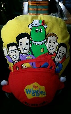 The Big Red Car The Wiggles Plush Pillow 2003 Decorative Stuffed Soft