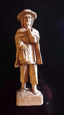 Hand Carved Made in Ecaudor Figurine