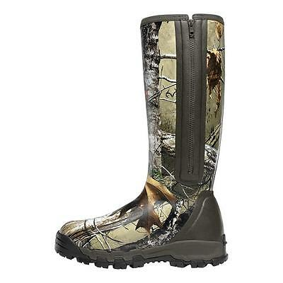 "Lacrosse Alphaburly Pro Side-Zip 18"" Realtree Xtra 1000G Hunting Boots 376017"
