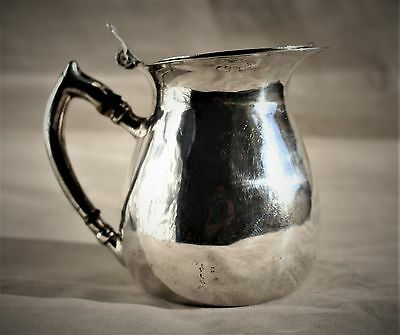 Sterling Sanborns Mexican Sterling Covered Creamer c. 1940