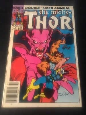 Mighty Thor Annual#13 Incredible Condition 9.0(1985) Mephisto,Ulik, Buscema Art!