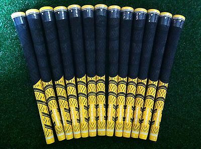 NEW 13pcs Innovation Multicompound Decade Standard Rubber Grip Pride Yellow/Blk