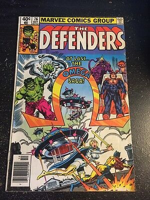 Defenders#76 Awesome Condition 6.5(1979) Omega Man App!!