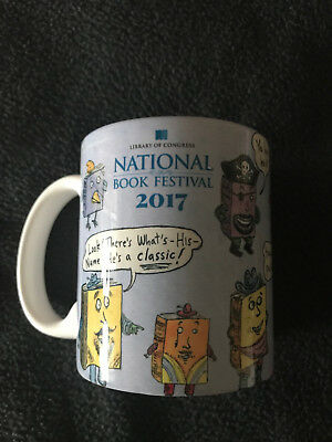 Library of Congress National Book Festival 2017 - Ceramic Mug by Roz Chast