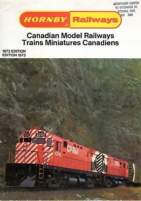 Hornby Railways Catalogue - Canadian Model Railways 1973 Edition – Excellent