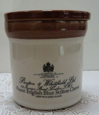 Excellent condition - Denby pot for Stilton cheese, for Paxton & Whitfield
