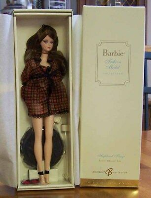 Highland Fling Barbie - Silkstone Fashion Model - Gold Label - New