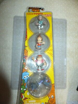 Nickelodeon's Nicktoons Collectible Mini Figures Jimmy Neutron 4-Pack New