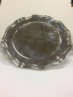 Sterling Silver Plate/Charger
