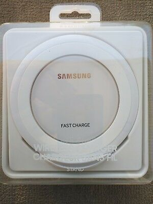 Samsung Fast Charge Wireless QI Charging Stand - White - FREE SHIPPING in CANADA