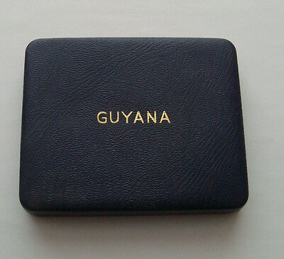 Guyana First Official Proof 5 Coin Set - Royal Mint - Rare! 1967