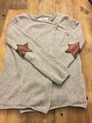 H&M Sweater w/ Star Elbow Patch Size 4-6 years