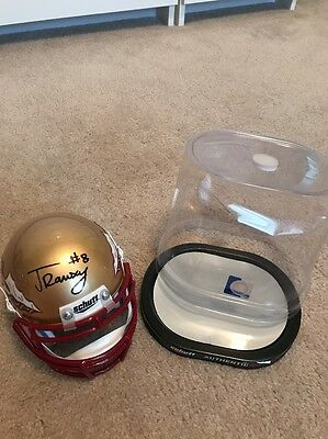 Jalen Ramsey Signed Fsu Mini Helmet!
