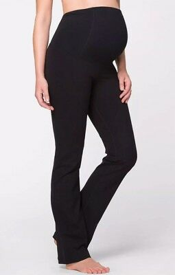 INGRID & ISABEL Active Maternity Pants with Crossover Panel Size XS
