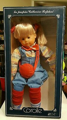 Vintage  Corolle CAtherine Refabert French doll #2556 Copine Aerobic 21